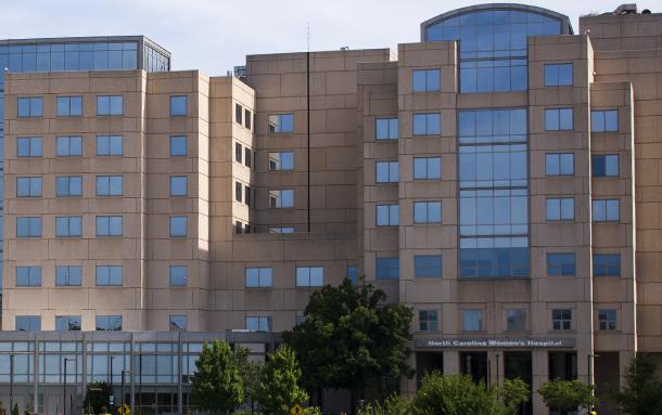 UNC Hospital buildings