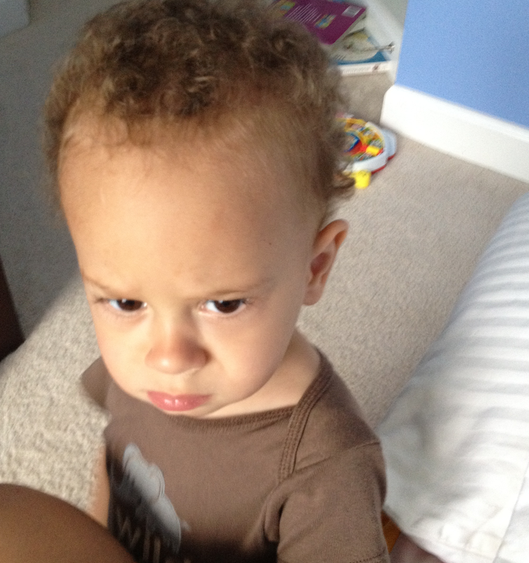 Child frowning